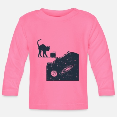 Cats And Dogs Collection Universe Cat - Baby Longsleeve Shirt