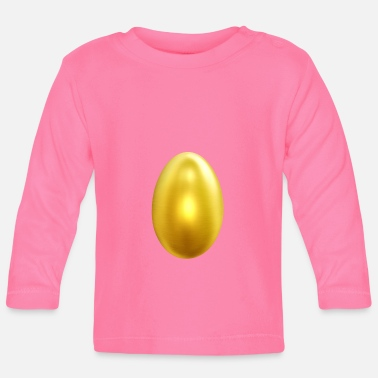 Gold Golden Gold Golden Egg Egg - Langarmet baby T-skjorte