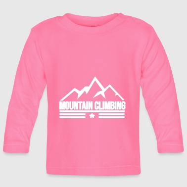 Mountain Climbing Mountain climbing Mountain climbing - Baby Long Sleeve T-Shirt