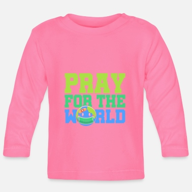 Planet Be för jorden World Hope Cohesion - Långärmad baby T-shirt