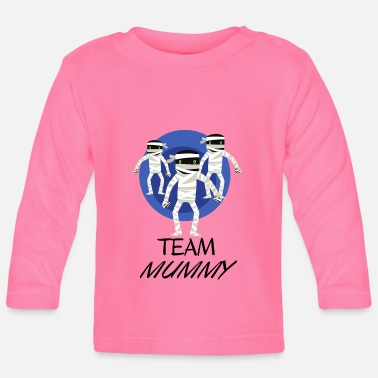 Mummy Team Mummy - The Mummy Team - Långärmad baby T-shirt