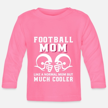 Official Person Football Mom Much Cooler - Baby Longsleeve Shirt