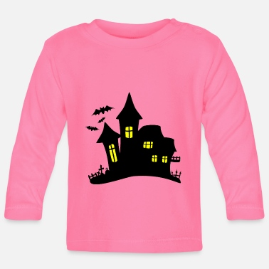 Haunted haunted house haunted house - Baby Longsleeve Shirt