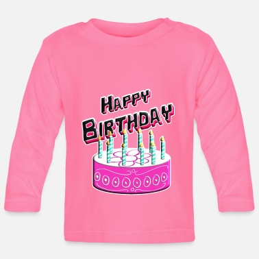 Happy Birthday Happy Birthday Cake Pink - T-shirt