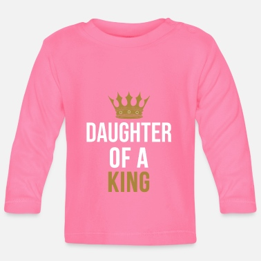 Father Daughter of a King father daughter partnerlook - Baby Longsleeve Shirt