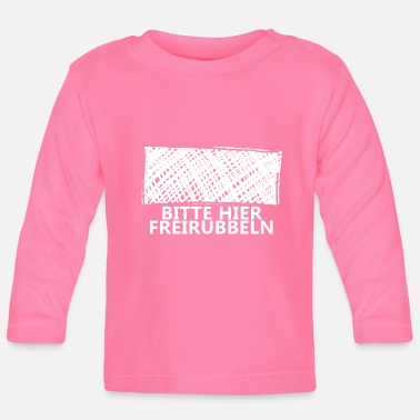 Scratch Please scratch this scratch - Baby Longsleeve Shirt