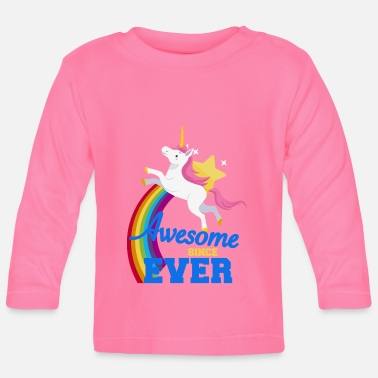 Awesome Since Unicorn - Awesome since ever - Baby longsleeve