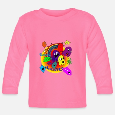 Monster minimonsters - Baby Langarmshirt