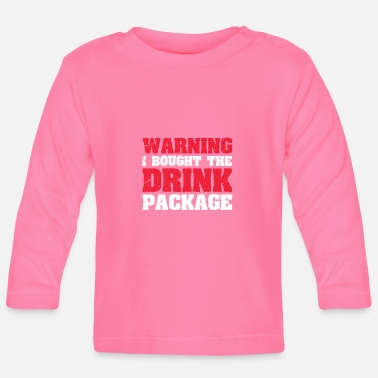 Gin alcohol - Baby Longsleeve Shirt