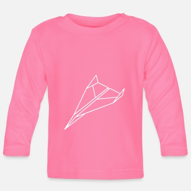 paper_ plane_a1 - Baby Long Sleeve T-Shirt