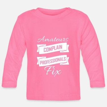 Business Business - Baby Longsleeve Shirt