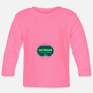 Veganuary shirt Go vegan gift idea - Baby Longsleeve Shirt