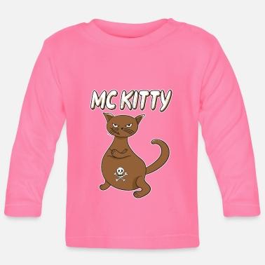 Mc Cat MC Kitty - Baby longsleeve