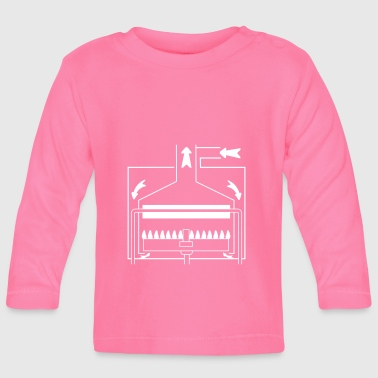 Boiler with a sealed chamber - Baby Long Sleeve T-Shirt
