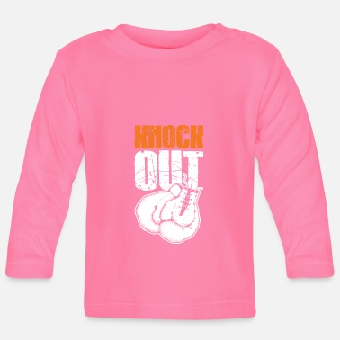Knock Out Knock out fist boxing - Baby Longsleeve Shirt