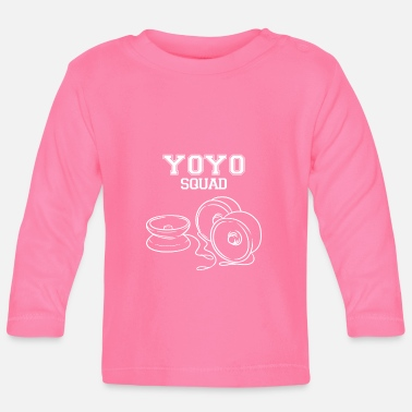 Brain Yoyo Squad Hobby Yo-Yo retro saying - Baby Longsleeve Shirt