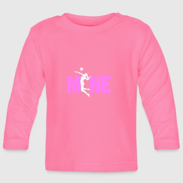 volleyball women mine gift - Baby Long Sleeve T-Shirt