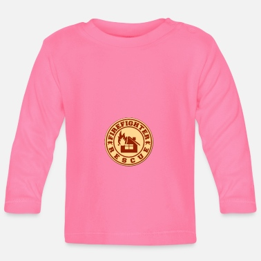 Rescue Firefighter rescue - Firefighter rescue - Baby Longsleeve Shirt