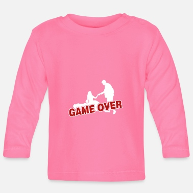 Over Game over - the game is over - Baby Longsleeve Shirt