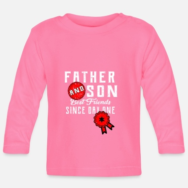 Match Son father dad father's day family and child gift - Baby Longsleeve Shirt