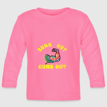 suns out guns out - Baby Long Sleeve T-Shirt