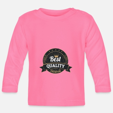 vintage best quality 11 F - Baby Longsleeve Shirt