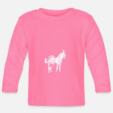 Animals Zebra animals - animals - Baby Longsleeve Shirt