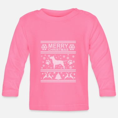 Terrier BULL TERRIER WEIHNACHTSEDITION - Baby Long Sleeve T-Shirt