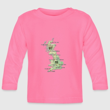Uk Atlas - Baby Langarmshirt