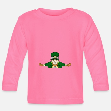 Goud St. Patrick's Day Leprechaun Yoga - T-shirt