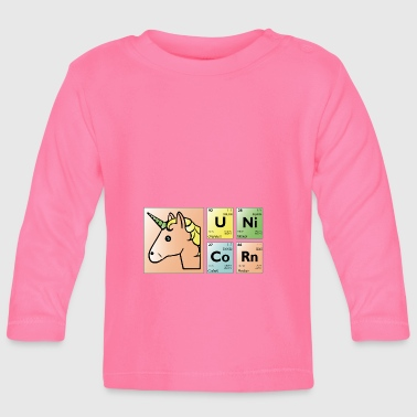 Periodic Table unicorn period - Baby Long Sleeve T-Shirt