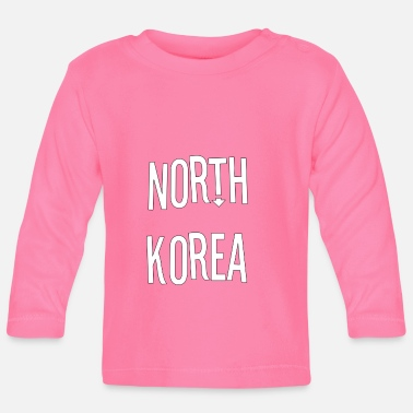 North Humberside North Korea - Baby Longsleeve Shirt