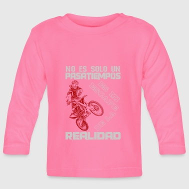Super-moto motocicleta - Baby Long Sleeve T-Shirt