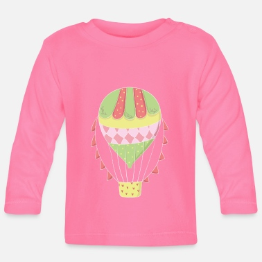 Hot Air Balloon hot air balloon - Baby Long Sleeve T-Shirt