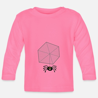Net Net with spider - Baby Longsleeve Shirt