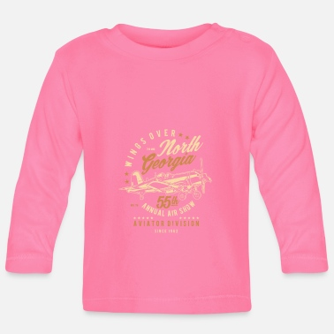 North Humberside Wings Over North Georgia - Baby Longsleeve Shirt