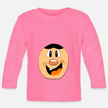 Pumpkin, Halloween, crazy and cute - Baby Longsleeve Shirt
