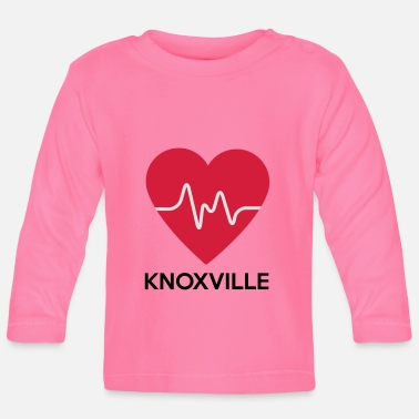 Knoxville heart Knoxville - Baby Longsleeve Shirt