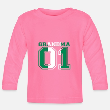 Eanf Granny 01 Grandma queen poison Nigeria - Baby Longsleeve Shirt