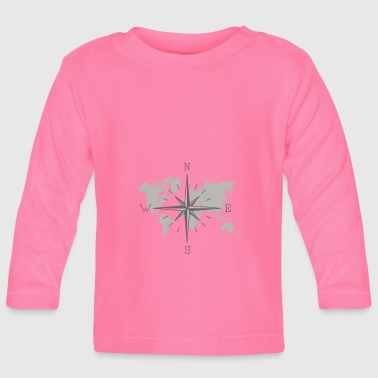 Map - Baby Long Sleeve T-Shirt