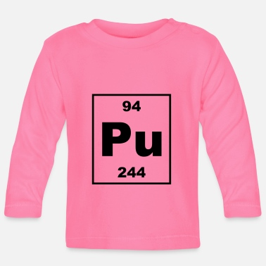 Plutonium Element 94 - pu (plutonium) - Small - Baby Langarmshirt