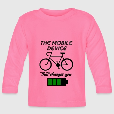 the mobile device - Baby Long Sleeve T-Shirt