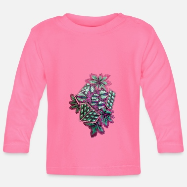 Abstract abstracte bloemen - T-shirt