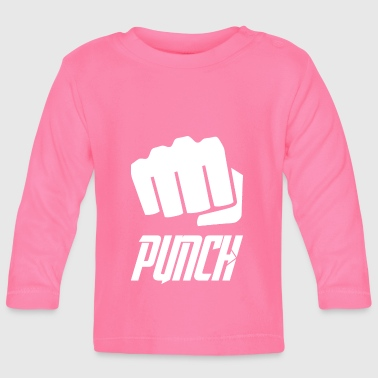 punch wite - Baby Long Sleeve T-Shirt