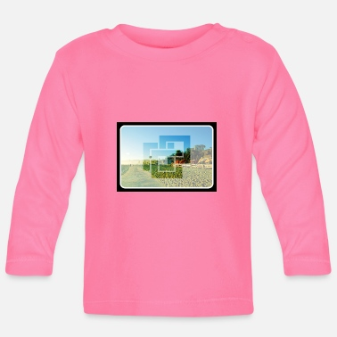 Los Angeles beach - Baby Longsleeve Shirt