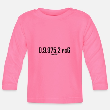Beta Beta version - Baby Longsleeve Shirt