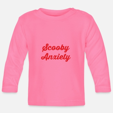 Scooby Scooby Anxiety - Logo Red - Baby Longsleeve Shirt