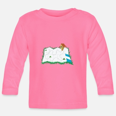 Map map - Baby Longsleeve Shirt