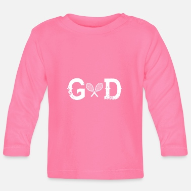 God God Legend god TENNIS - Långärmad baby T-shirt
