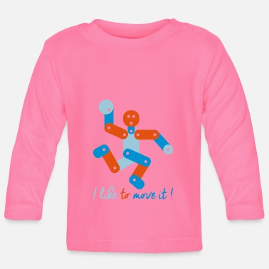 Move MOVE - Baby Long Sleeve T-Shirt